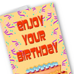 Personalized birthday card by omniverz.com