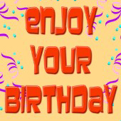 Enjoy your birthday greeting card at Omniverz.com