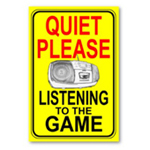 Quiet listening to game poster from omniverz.com