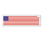 American flag round button by omniverz.com