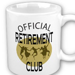 Official Retirement Mug created by Omniverz.com
