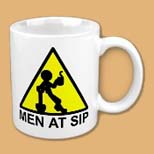 Men at Sip Mug created at Omniverz.com